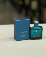 VERSACE EROS MINIATURE  FOR MEN 5 ML  EDT SAMPLE SIZE NEW IN BOX