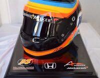 FERNANDO ALONSO 2017 USA GP F1 REPLICA HELMET FULL SIZE HELM CASQUE  CASCO