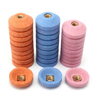 10Pcs 30mm Grinding Wheel Cup Surface Polishing For Air Micro Grinder