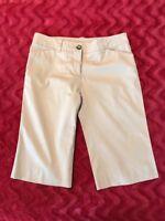 Burberry  Ladies Tan Shorts Size US 2 UK 4