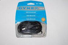 Dynex DX-C114194 6' USB 2.0 A/B Cable