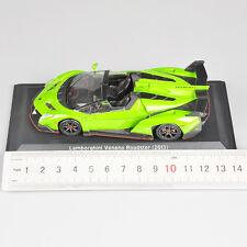 Green 1/43 Scale Lamborghini Veneno Roadster 2013 Vehicle Car Diecast Model Toy