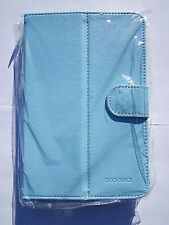 BLUE Multi Angle PU Leather Carry Case Stand for Onda Vi40 Elite Tablet PC