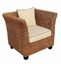 Water Hyacinth Rome Club Chair made by Chic Teak