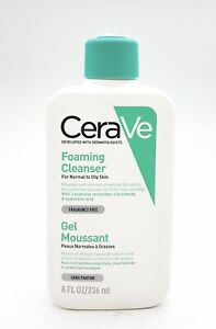 CERAVE Foaming Cleanser 236ml Normal to Oily Skin NEW No Pump #4141