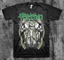 ASESINO 'Skeleton' T shirt (BRUJERIA, TRANSMETAL, CARCASS )