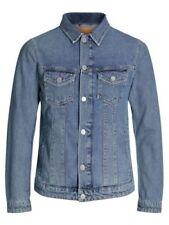 Abrigos y chaquetas de hombre azules JACK & JONES de 100% algodón