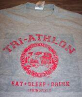 VINTAGE STYLE THE SIMPSONS HOMER SIMPSON Eat Sleep Drink T-Shirt XL NEW