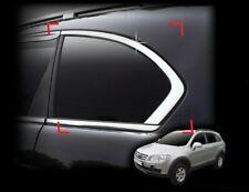 Auto Clover Chrome C Pillar Covers Trim Set for Chevrolet Captiva 2007+