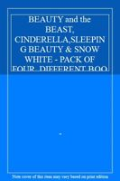 BEAUTY and the BEAST, CINDERELLA,SLEEPING BEAUTY & SNOW WHITE - PACK OF FOUR DI