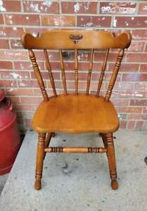 Tell City Hard Rock Maple Dining Chair Colonial Style Andover Finish #9
