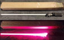 Star Wars SW207 Master Replicas DARTH VADER V Custom led lightsaber NO STAND-BOX