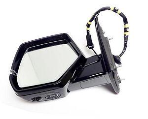 2015 to 2018 Cadillac Escalade Mirror Driver Side Gray Silk 360º Camera Signal
