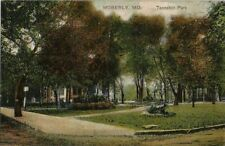 1908 Postcard - Rannehill Park - Moberly MO