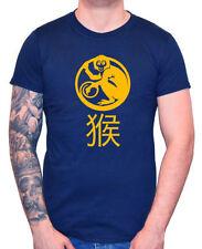 Monkey Cotton Short Sleeve T-Shirts for Men