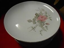 """Fine Vintage China 'LOVELY"""" from Japan ...pattern EVELYN...6 DINNER Plates"""