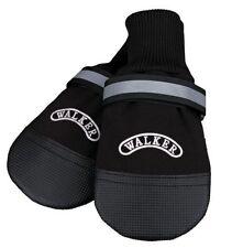 Vêtements et chaussures noires en cuir pour chien