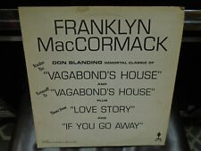 Franklyn MacCormack Vagabond House LP Torch Records VG+