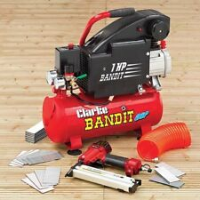 Bandit IV 8 Litre Air Compressor With Air Gun Kit. 8 litre Portable Compressor