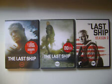 THE LAST SHIP SEASON 1,2,& 3 DVD TV SERIES (3,3 DISC SETS)NEW LOADED WITH XTRAS