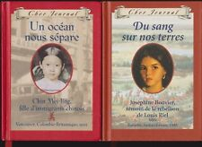 "9 Dear Canada HC's - Scholastic ""  FRENCH ""  - History Related - FREE  SHIPPING"