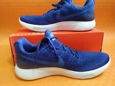 41f7907198838 Brand N Nike Lunarepic Low Flyknit 2 Deep Royal Blue Medium Blue 863779-400