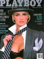 Playboy Magazine August 1988 ~ Very Good