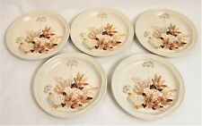 Poole Summer Glory Tea Plates - Five Plates - Thames Hospice