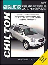 Workshop Manual GM Acadia Buick Enclave Saturn Outlook Chevy Traverse 2007-2017