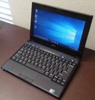 "Dell Latitude 2100 10.1"" Netbook  Intel 80GB 2GB Windows 7"