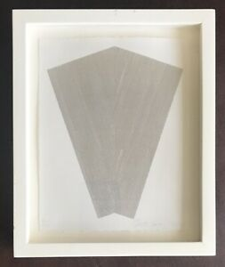 Original Modern Art Ltd Edition Abstract Picture Etching 3/50 By Tess Jaray RA