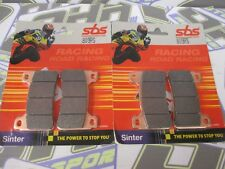 SBS Race Racing Sinter Track Front Brake Pads for Honda CBR1000RR 2004-2016