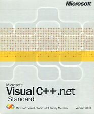 Microsoft Visual C++ .net Standard 2003 Totally Complete MINT