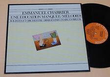 E CHABRIER:LP-AVANTGARDE MUSIC TOP NM