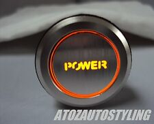 Savage POWER Engine Start Push Button Switch Car *Amber LED* <<EXCLUSIVE>>