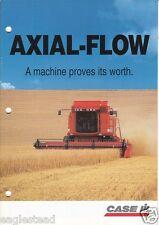 Farm Combine Brochure - Case IH - 2100 series - Axial-Flow Reviews (F1957)