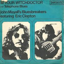 """JOHN MAYALL & THE BLUESBREAKERS i'm your witchdoctor (PS) VG-/VG  french 7"""""""