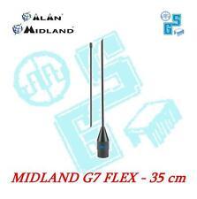 G7-FLEX ANTENNA flessibile per MIDLAND G7 G8 G9 G11 G14 G15 ALAN ORIGINALE 35 cm