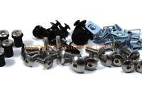 Stainless Steel Fairing & Screen Bolt Screws Clips for Suzuki GSX1250FA 2010+