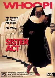 Sister Act - DVD - 1992 Whoopi Goldberg - Maggie Smith - 90'S COMEDY R4