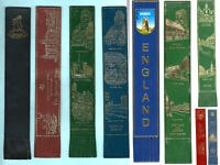 Leather Bookmark Warwickshire Cricket Club Warwick Castle Coventry Cathedral