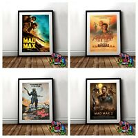 Mad Max Movie Posters A4 A3 Mad Max Thunder Dome Fury Road (VARIOUS DESIGNS)