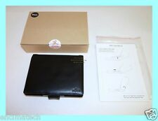 BRAND NEW FUJITSU OEM BLACK EXECUTIVE LEATHER PORTFOLIO CASE U810 U1010 FPCCC91