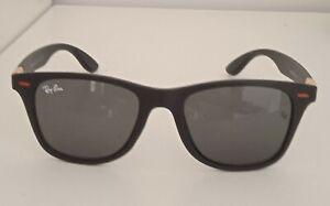 Ray-Ban Wayfarer Sonnenbrille für Herren - Schwarz (RB2132)