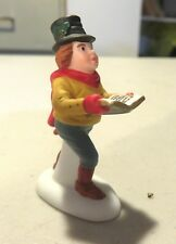 Dept-56 Christmas-In-The-City Accessory - Man singing Christmas Carols