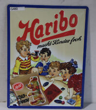 Blechschild Werbeschild *Haribo* vintage (G480)