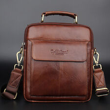 Men's Genuine Leather Fashion Handbag Messenger Shoulder bag Purse