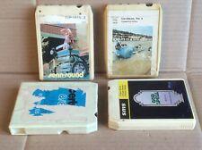 4 Historische Musikkassetten Cassetten Bänder für Sammler *