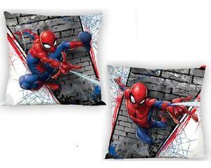 Lot 2 Taie d'oreiller / Housse de coussin , Spiderman Enfant / Garçon 100% coton