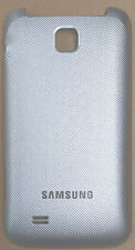 Akkudeckel Backcover für Samsung C3520 silber wie neu